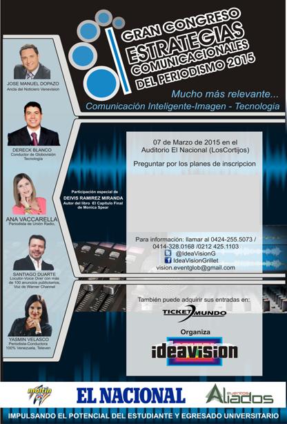 Congreso Estrategias Comunicacionales de Periodismo 2015